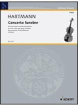 Karl Amadeus Hartmann - Concerto Funebre - Music Book