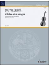 Henri Dutilleux - L'Arbre Des Songes - Music Book