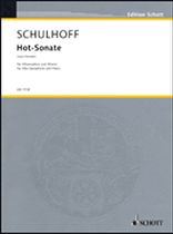 Erwin Schulhoff - Hot-Sonate (Jazz Sonata) - Music Book