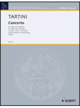 Giuseppe Tartini - Concerto In G Major - Music Book