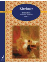 Theodor Kirchner - Preludes Op. 9 - Music Book