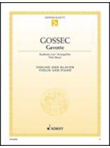 Francois-Joseph Gossec - Gavotte - Music Book