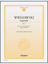Henryk Wieniawski - Ltgende, Op. 17 - Music Book