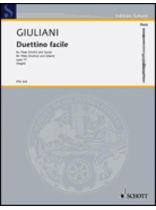Mauro Giuliani - Duetti Facile, Op. 77 - Music Book