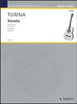 Joaquin Turina - Sonata for Guitar - Music Book