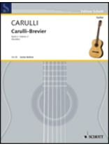 Ferdinando Carulli - Brevier - Selected Works for Guitar - Music Book