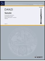 Franz Danzi - Sonata In B Flat Major - Music Book