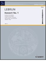 Ludwig August Lebrun - Concerto No.1 In D Minor - Music Book