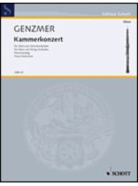 Harald Genzmer - Chamber Concerto - Music Book