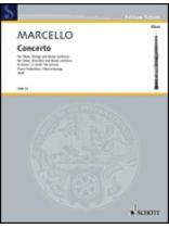 Alessandro Marcello - Concerto In D Minor - Music Book