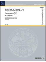 Girolamo Frescobaldi - Canzona II - Music Book