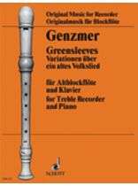 Harald Genzmer - Greensleeves - Music Book