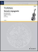 Joaquin Turina - Sonata Espagnole - Music Book