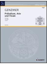 Harald Genzmer - Prsludium, Arie Und Finale - Music Book
