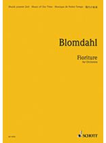 Karl Birger Blomdahl - Fioriture - Music Book
