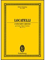 Pietro Antonio Locatelli - Concerti Grossi 1, 2, 3 and 4 - Study Score - Music Book