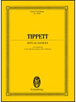 Michael Tippett - Ritual Dances for Orchestra - Study Score - Music Book