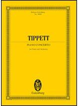 Michael Tippett - Piano Concerto - Study Score - Music Book