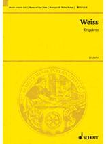 Harald Weiss - Requiem - Boy Soprano, Soprano, Tenor, Flugelhorn, Mixed Chorus, and Chamber Orchestra Study Score - Music Book