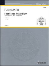 Harald Genzmer - Festliches Prsludium - Music Book