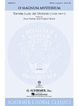 Tomas Luis De Victoria - O Magnum Mysterium - Music Book