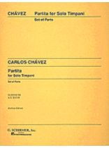 Partita for Solo Timpani - Music Book