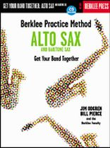 Berklee Practice Method: Alto and Baritone Sax - Music Book