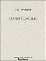 Joan Tower - Clarinet Concerto - Music Book