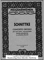 Alfred Schnittke - Alfred Schnittke - Concerto Grosso - Music Book