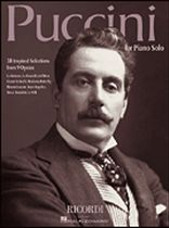 Puccini for Piano Solo - Sheet Music Book