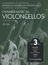 Chamber Music for Four Violoncellos - Volume 3 - Score and Parts - Music Book