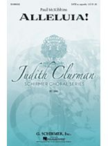 Paul McKibbins - Alleluia! - Judith Clurman Choral Series - Music Book