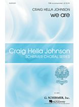 Craig Hella Johnson - we are - TTBB - Music Book