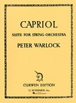 Capriol Suite - Music Book