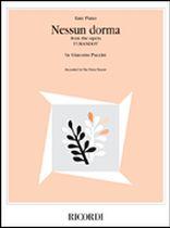 Giacomo Puccini - Nessun Dorma - Music Book