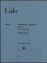 Edouard Lalo - Symphonie Espagnole for Violin and Orchestra D Minor Op 21 - Henle Urtext - Music Book