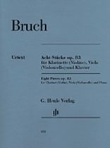 Max Bruch - 8 Pieces, Op. 83 - Music Book