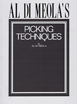 Al Di Meola - Al Di Meola's Picking Techniques - Music Book