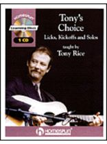 Tony Rice - Tony's Choice - Music Book