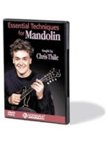 Chris Thile - Essential Techniques for Mandolin - Music Book