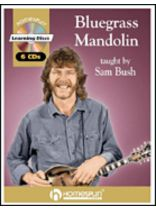 Sam Bush - Bluegrass Mandolin - Music Book