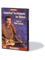 Essential Techniques for Dobro? - 2-DVD Set - Music Book