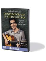 Chris Proctor - Techniques for Contemporary 12-String Guitar - Music Book