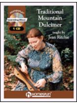 Jean Ritchie - Traditional Mountain Dulcimer - Music Book