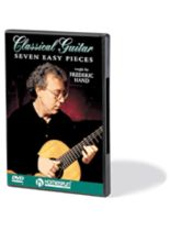 Frederic Hand - Seven Easy Pieces for Classical Guitar - DVD - Music Book