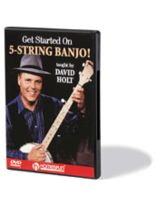 David Holt - Get Started on 5-String Banjo! - DVD - Music Book