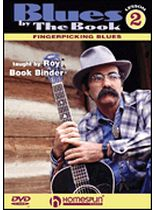 Blues By the Book for Fingerstyle Guitar - DVD 2 - Music Book