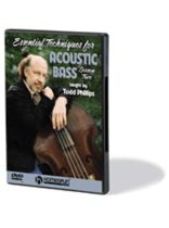 Essential Techniques for Acoustic Bass - DVD Two - Music Book