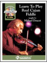 Michael Doucet - Learn To Play Real Cajun Fiddle - Music Book