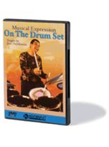 Jack Dejohnette - Jack Dejohnette Teaches Musical Expression on the Drum Set - DVD - Music Book